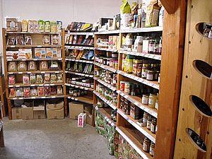 rayon épicerie petit dej magasin bio essentiel marciac