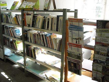 rayon librairie spécialisé écologie alternatives
